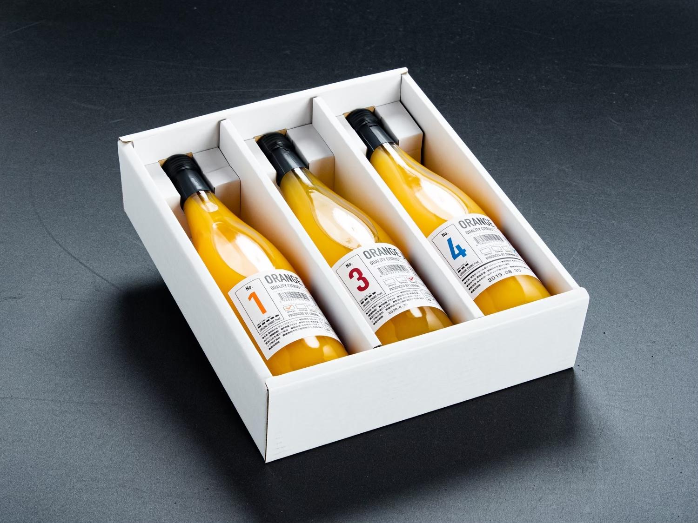 実績写真:愛媛の柑橘Sweetジュースセット|720ml|3本ギフト