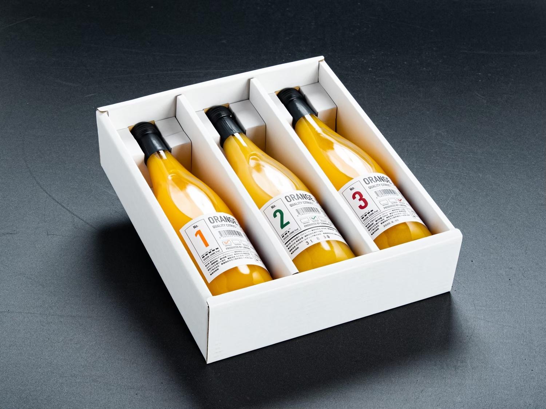 実績写真:愛媛の柑橘Freshジュースセット|720ml|3本ギフト